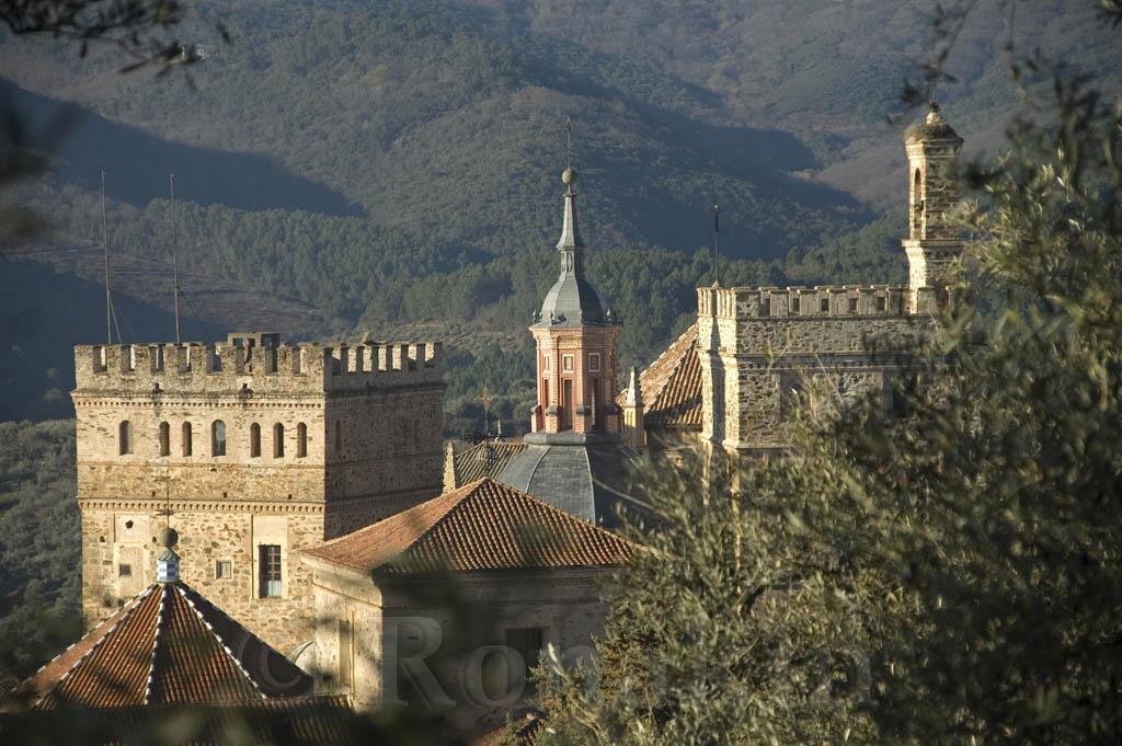Monasterio de Guadalupe desde la Viña Mayor